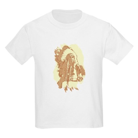 Indian Chief Kids Light T-Shirt
