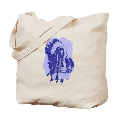 Indian Chief Tote Bag