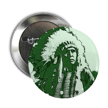 "Indian Chief 2.25"" Button (100 pack)"