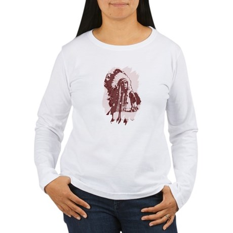 Indian Chief Women's Long Sleeve T-Shirt
