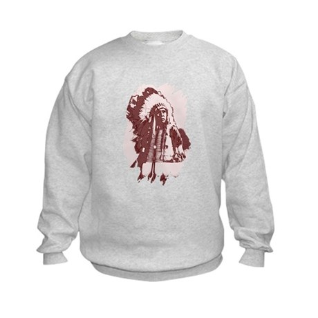 Indian Chief Kids Sweatshirt