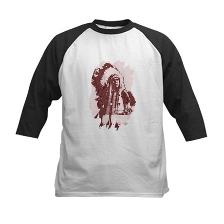 Indian Chief Kids Baseball Jersey