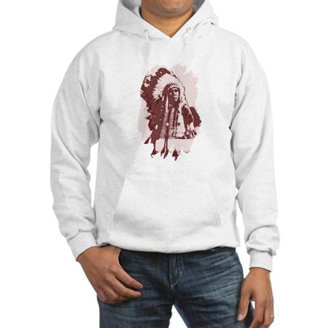 Indian Chief Hooded Sweatshirt