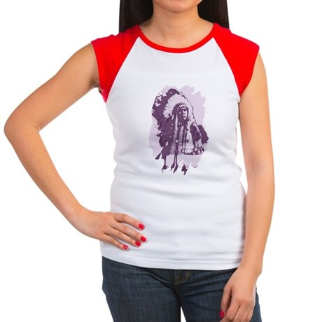 Indian Chief Women's Cap Sleeve T-Shirt