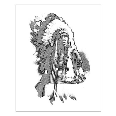 Indian Chief Small Poster
