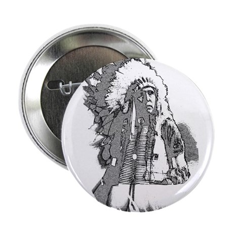 "Indian Chief 2.25"" Button (10 pack)"