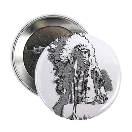 "Indian Chief 2.25"" Button"