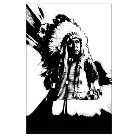 Indian Chief Large Poster