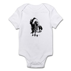 Indian Chief Infant Bodysuit