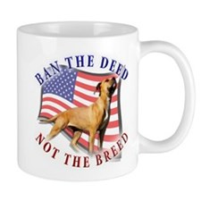 Ban the deed not the breed de Mug