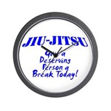 Unique Jiu jitsu Wall Clock