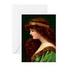 Irish Princess Greeting Cards (Pk of 10)