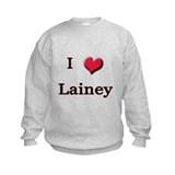 I Love (Heart) Lainey Sweatshirt