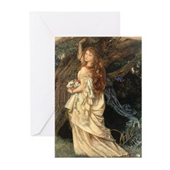 The Lady Ophelia Greeting Cards (Pk of 10)