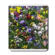 Pansies Mousepad