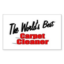 """The World's Best Carpet Cleaner"" Decal"