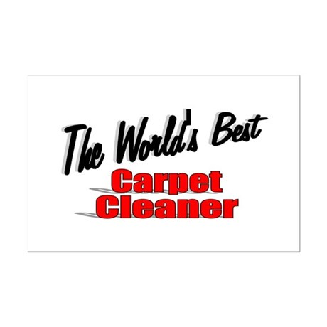 """The World's Best Carpet Cleaner"" Mini Poster Prin"