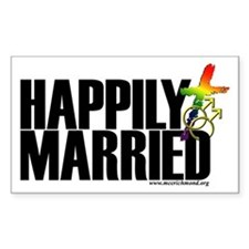 Happily Married Men Decal