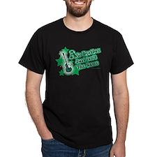 Air Guitar Retro T-Shirt