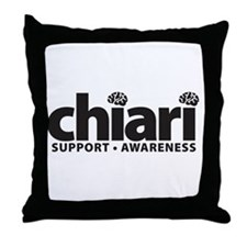 Arnold chiari malformation Throw Pillow