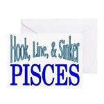 Pisces Greeting Cards (Pk of 20)