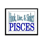 Pisces Framed Panel Print
