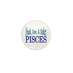 Pisces Mini Button (10 pack)