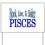 Pisces Yard Sign