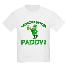 Leprechaun Who's Your Paddy T-Shirt