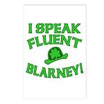 I Speak Fluent Blarney Postcards (Package of 8)
