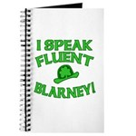 I Speak Fluent Blarney Journal