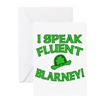 I Speak Fluent Blarney Greeting Cards (Pk of 10)
