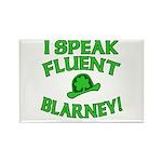 I Speak Fluent Blarney Rectangle Magnet