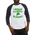 I Speak Fluent Blarney Baseball Jersey