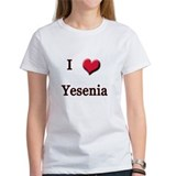 I Love (Heart) Yensenia Tee