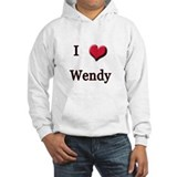 I Love (Heart) Wendy Hoodie