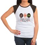 Peace Love Grasshopper Kung Fu Women's Cap Sleeve