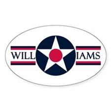 Williams Air Force Base Oval Decal