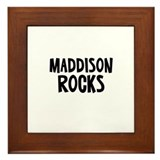Maddison Rocks Framed Tile
