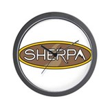 sherpa Wall Clock