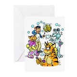 Special Notes Tigrikorn Greeting Cards (Pk of 10)