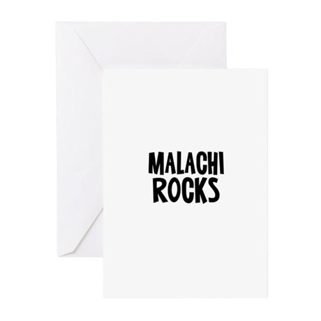 Malachi Rocks Greeting Cards (Pk of 10)