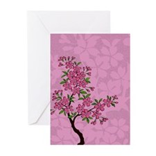 Cherry Blossom Tree Greeting Cards (Pk of 10)