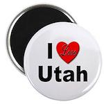 I Love Utah for Utah Lovers Magnet
