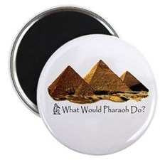 "What Would Pharaoh Do? 2.25"" Magnet (100 pack)"