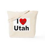 I Love Utah for Utah Lovers Tote Bag