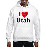 I Love Utah for Utah Lovers Hooded Sweatshirt