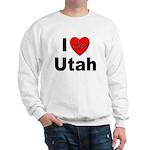 I Love Utah (Front) Sweatshirt