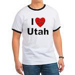 I Love Utah for Utah Lovers Ringer T