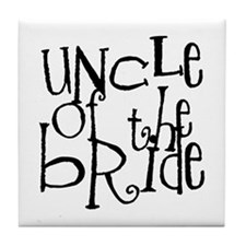 Uncle of the Bride Graffiti Tile Coaster